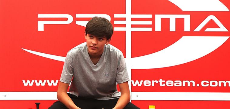 Sebastian Montoya piloto de la F4 para la temporada 2020 de Prema.