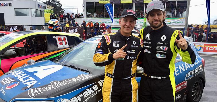 Camilo Forero y Andrés Rodríguez Campeones del Chase del TC 2000