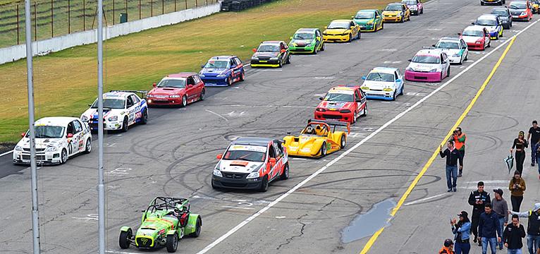 El CNA abre las competencias en el Autódromo de Tocancipá este domingo 18 de octubre