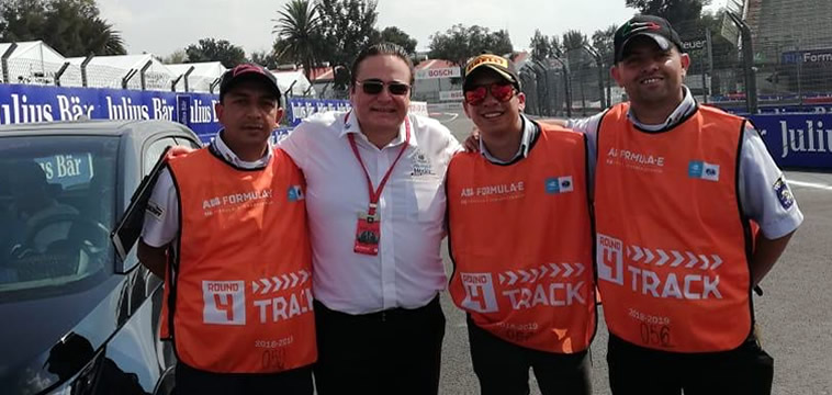 Julian Abed Clerk of the Course  México GP F1 / E-Prix