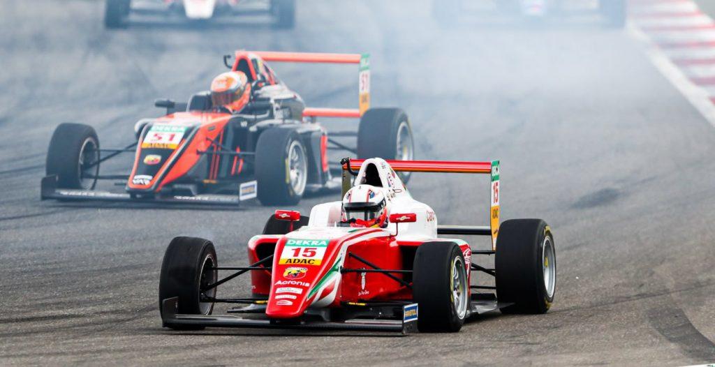 Sebastián Montoya corrió la segunda fecha del F4 ADAC Alemania