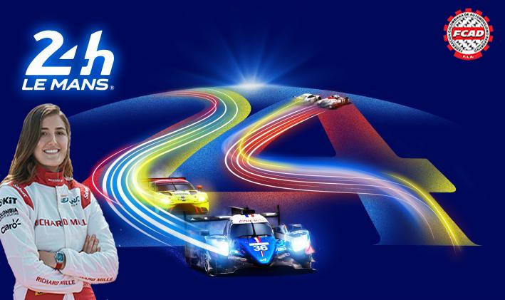 Alineada en un equipo 100% femenino Tatiana Calderón disputará sus primeras 24 Horas de Le Mans el fin de semana