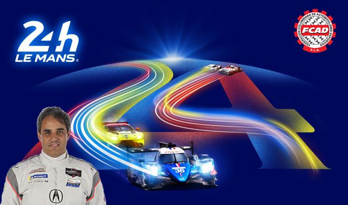 Juan Pablo Montoya disputará por segunda ocasión las 24 Horas de Le Mans este fin de semana