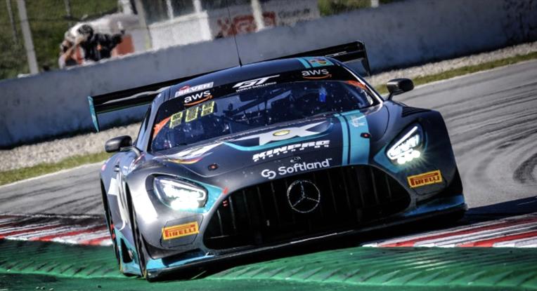 Con doble podio cerró Oscar Tunjo en la temporada del GTW ChEu Silver Cup