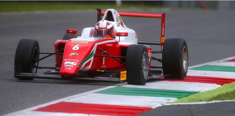 Sebastián Montoya corre en Monza la 5ta fecha del F4 Italiano