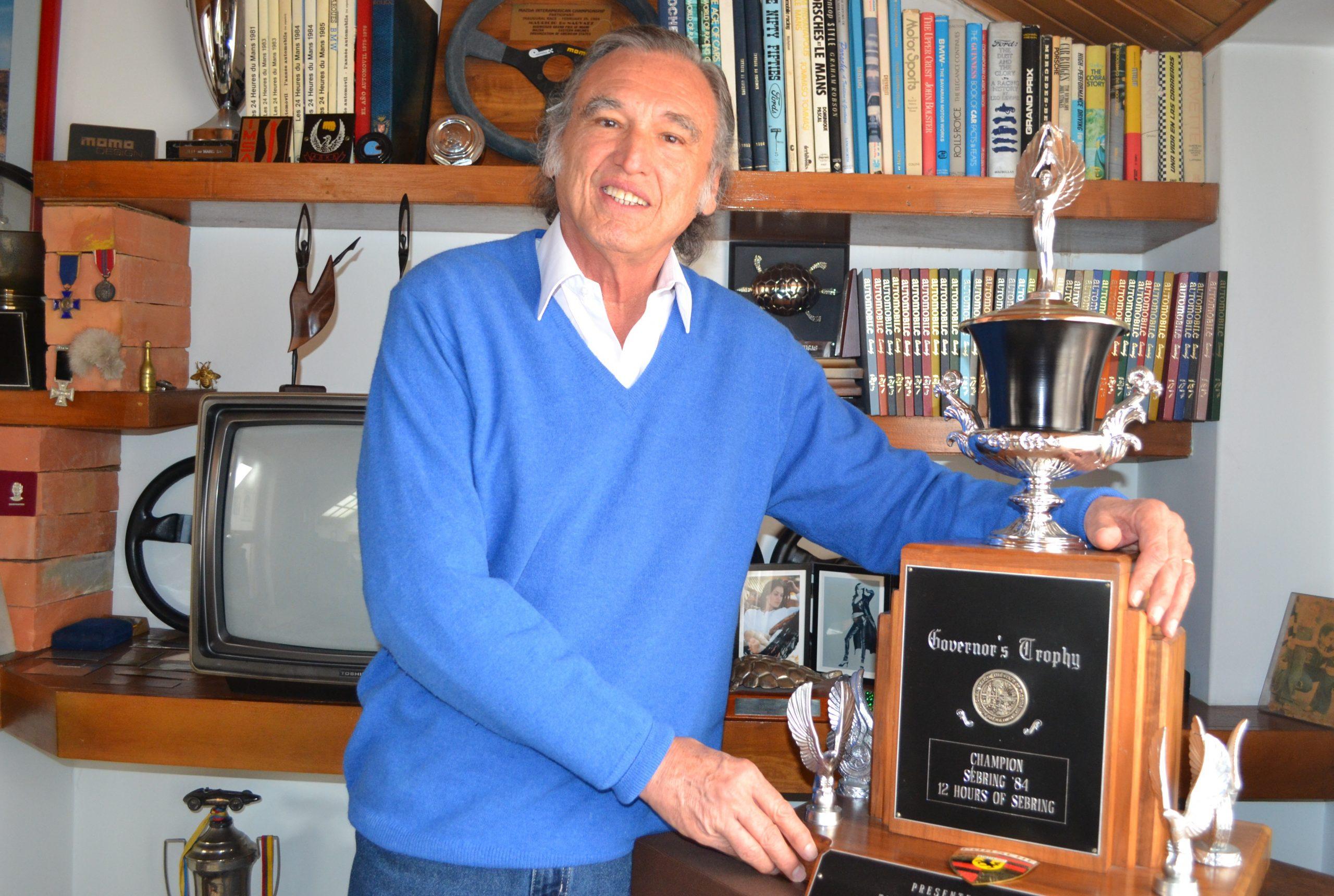 Mauricio De Narváez homenajeado en los 60 Años de las 12 Horas de Sebring