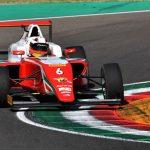 Tres colombianos en la ronda final del Campeonato de F4 Italiano en Vallelunga