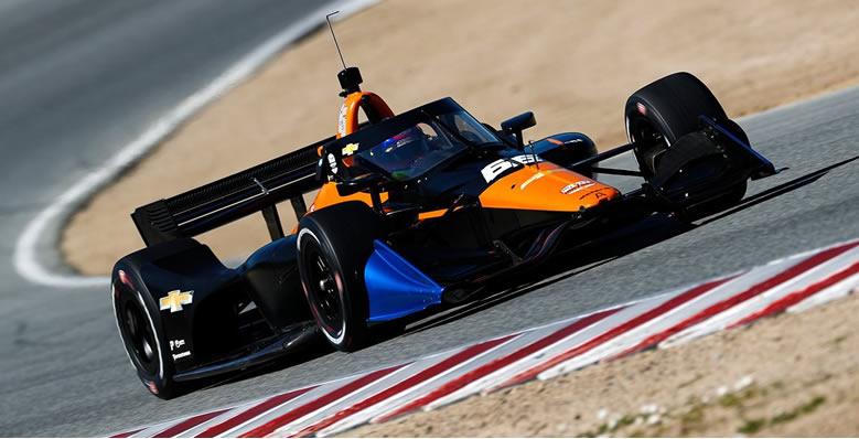 En Laguna Seca se dio el regreso de Montoya a los coches de IndyCar