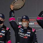 Juan Pablo Montoya conquistó un lugar en el podio de las 12 Horas de Sebring