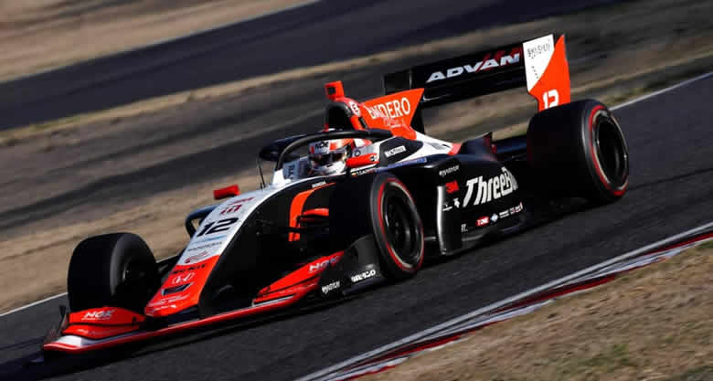 Tatiana Calderón cerró pretemporada de la Super Formula en Fuji