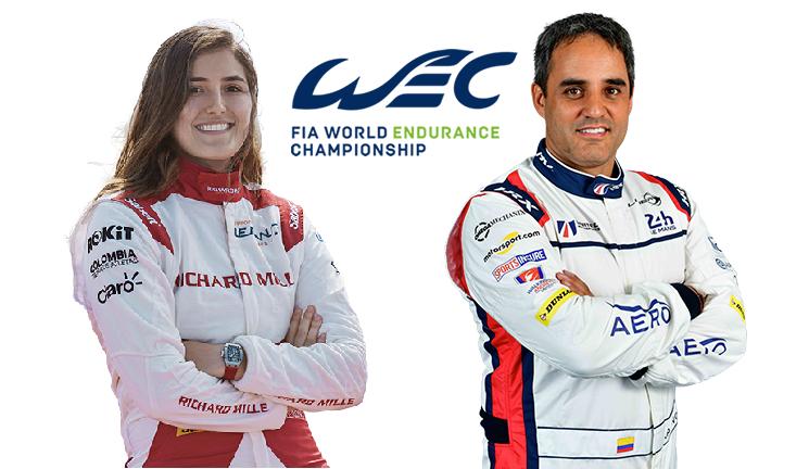 Juan Pablo Montoya y Tatiana Calderón en el Top 10 de las 6 Horas de Spa-FIA WEC