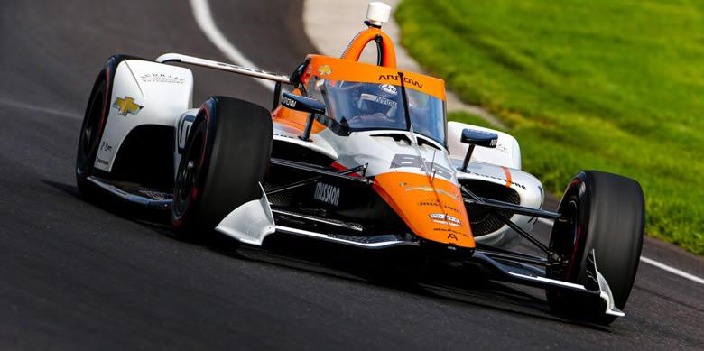 Montoya marcó el tercer mejor tiempo en el Open Test de Indy 500