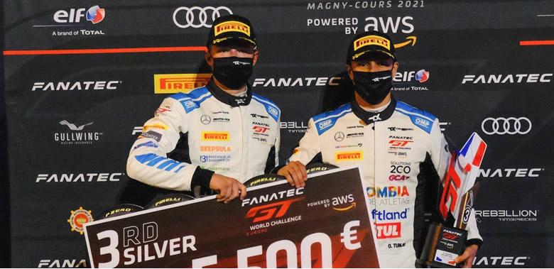 Óscar Tunjo consigue un podio en el arranque de la Copa Sprint del GTW Challenge Europe
