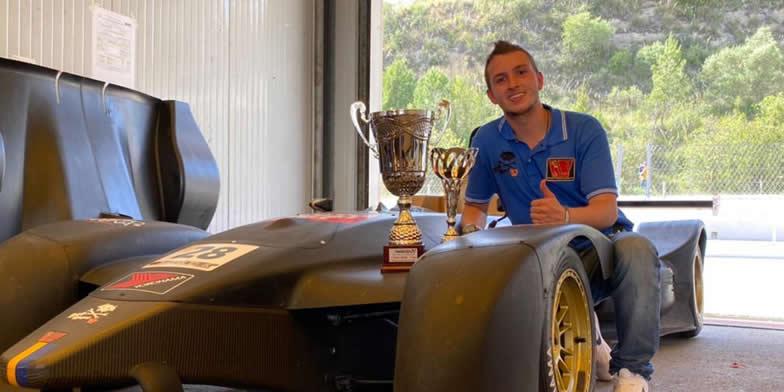 Doble podio de Novatos para Santiago Mejía en el Campeonato Italiano Sport Prototipos