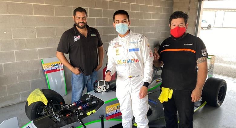Lucas Medina buscará defender el liderato del Nacam FIA F4 en Houston
