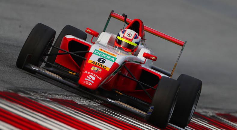 Gran actuación de Sebastián Montoya en válida del ADAC F4 en Red Bull Ring