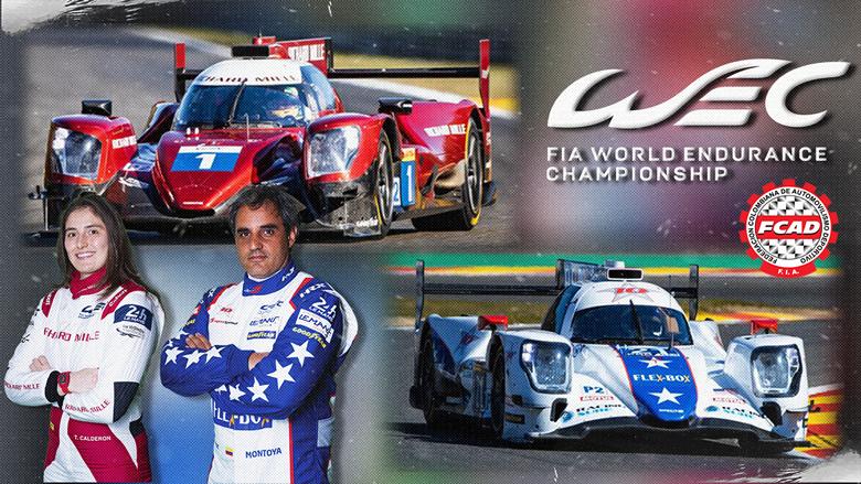 Tatiana Calderón y Juan Pablo Montoya listos para la tercera ronda  del FIA WEC en Monza.