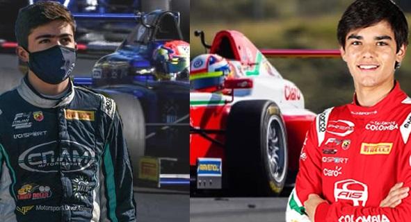 Sebastián Montoya y Nicolás Baptiste retornan a las competencias del F4 Italiano