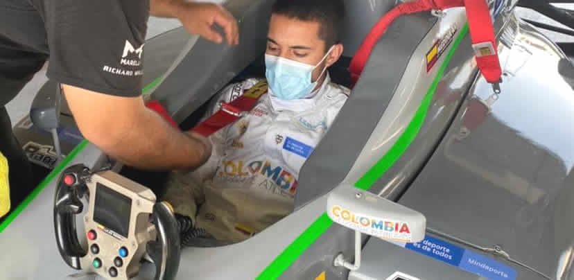En Estados Unidos Lucas Medina enfrentará este fin de semana la tercera ronda del Nacam FIA de F4
