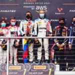 Victoria y doble podio de Oscar Tunjo en el Campeonato Sprint del GTW Ch Eu en Brands Hatch