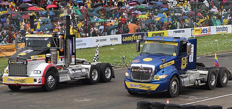 Este fin de semana sábado 18 y domingo 19 de septiembre se celebrará el Gran Premio Mobil Delvac de Tractomulas