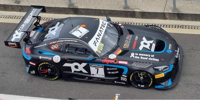 Oscar Tunjo corre la penúltima ronda de temporada del Endurance Cup