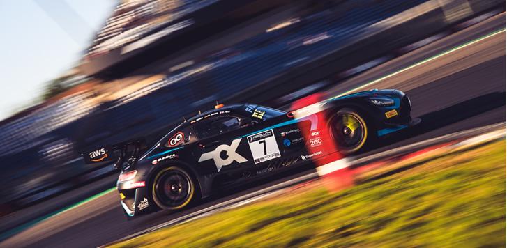 Oscar Tunjo sumó otro podio en el GT World Challenge Eu