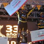 La edición 33 del GP Mobil Delvac se quedó en manos de los boyacenses: Henry David Guío se coronó campeón 2021 y José Daniel Puerto repitió título de Campeón de Campeones